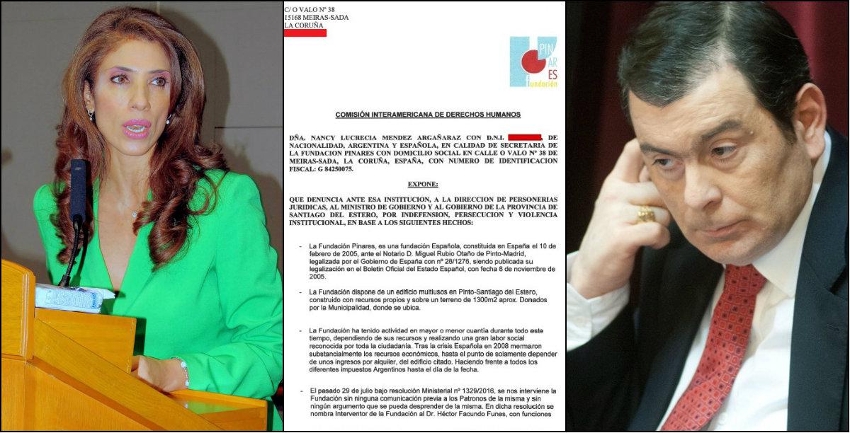 denuncia Epaña-Santiago